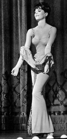 Gypsy Natile Wood in the 1962 Film Musical