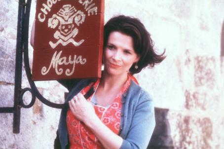 Chocolat Juliette Binoche as Vianne Rocher in Miramax's  - 2000