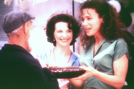 Chocolat Juliette Bincohe and Lena Olin in Miramax's  - 2000