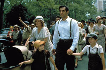John Turturro Barbara Sukowa and  lead their family in the march towards the controversial musical in Touchstone's Cradle Will Rock - 12/99