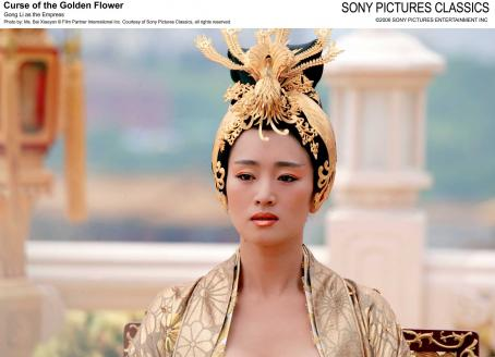 Curse of the Golden Flower Gong Li as the Empress. Photo by: Ms. Bai Xiaoyan © Film Partner International Inc. Courtesy of Sony Pictures Classics, all right reserved.