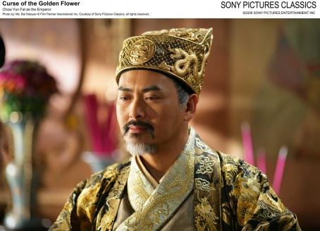 Curse of the Golden Flower Chow Yun Fat as the Emperor. Photo by: Ms. Bai Xiaoyan © Film Partner International Inc. Courtesy of Sony Pictures Classics, all right reserved.