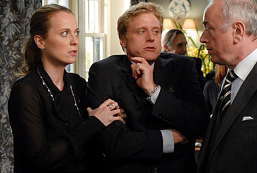 Alan Tudyk Martha (Daisy Donovan) and Simon () in Death at a Funeral - 2007