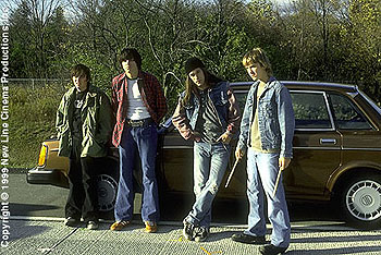 James DeBello Edward Furlong, Guiseppe Andrews, James De Bello and Sam Huntington in Detroit Rock City
