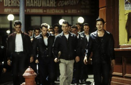 Norman Reedus Johnny Knoxville (far left), Balthazar Getty (second from right) and  (far right) in United Artists' Deuces Wild - 2002