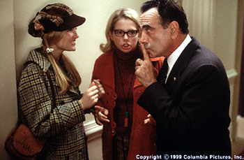 Dan Hedaya Kirsten Dunst, Michelle Williams and  in Dick