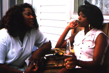Loretta Devine  and Alfre Woodard in Down In The Delta