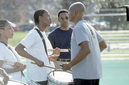 Drumline Nick Cannon, Leonard Roberts and Orlando Jones in 20th Century Fox's  - 2002