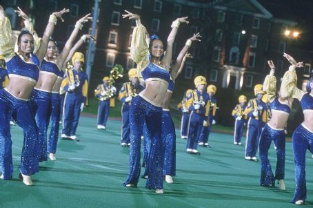 Drumline Zoe Saldana, center front in 20th Century Fox's  - 2002