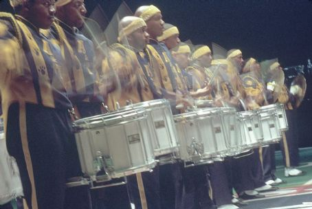 Drumline The drumline takes aim at the competition during the Big Southern Classic in 20th Century Fox's  - 2002