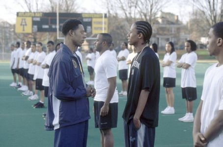 Drumline Orlando Jones and Nick Cannon in 20th Century Fox's  - 2002