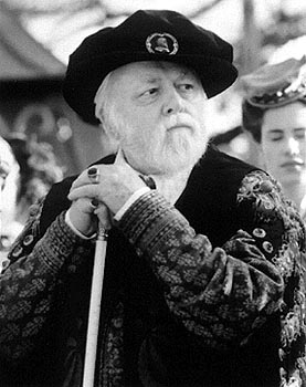 Elizabeth Richard Attenborough as Sir William Cecil in