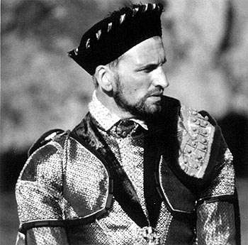 Christopher Eccleston  as the Duke of Norfolk in Elizabeth