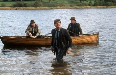 Aidan Quinn Stephen Rea, Pierce Brosnan and  in MGM's Evelyn - 2002