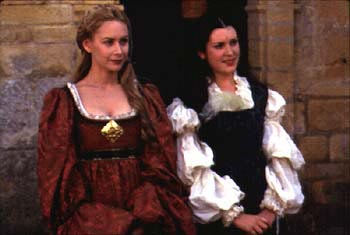 Megan Dodds  with Melanie Lynskey in 20th Century Fox's Ever After - 1998