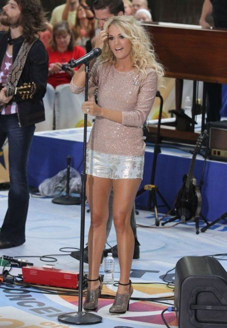 "Carrie Underwood performing on the ""Today"" show Summer Concert Series (August 15)"