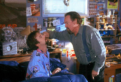 Rip Torn Tom Green as Gord and  as his father in 20th Century Fox's Freddy Got Fingered - 2001