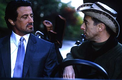 Alan Cumming Sylvester Stallone and  in Warner Brothers' Get Carter - 2000