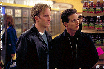Jay Mohr  and Scott Wolf in Go