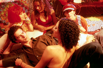 Lola Glaudini Hamish Linklater (left) as David Turner and  (right) as Leyla Heydel in Sony Pictures Classics' Groove - 2000