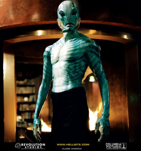 Doug Jones  as Abe Sapien in Sony Pictures' Hell Boy - 2004