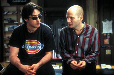 High Fidelity John Cusack as Rob Gordon and Todd Louiso as Dick in Touchstone's  - 2000