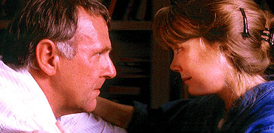 Sissy Spacek Tom Wilkinson and  in Miramax's In The Bedroom - 2001