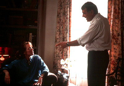 Sissy Spacek  and Tom Wilkinson in Miramax's In The Bedroom - 2001