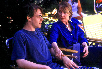 Sissy Spacek Nick Stahl and  in Miramax's In The Bedroom - 2001