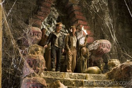 Ray Winstone L to R:  as Mac, Shia LaBeouf as Mutt Williams and Harrison Ford as Indiana Jones in action adventure Paramount Pictures' Indiana Jones 4 - 2008