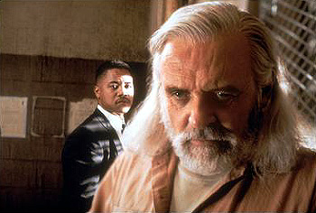 Instinct Cuba Gooding Jr. and Anthony Hopkins in
