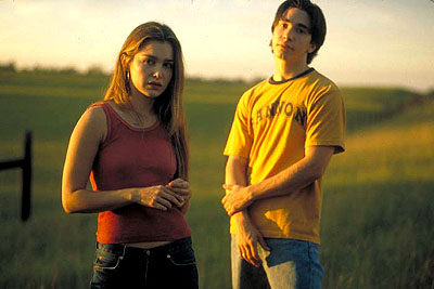 Gina Philips and justin long
