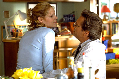 Mary McCormack  and Jeff Bridges in Universal's K-PAX - 2001