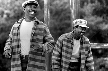 Life Eddie Murphy and Martin Lawrence in Universal's  - 1999