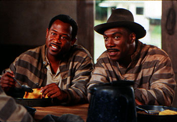 Life Martin Lawrence and Eddie Murphy in Universal's  - 1999