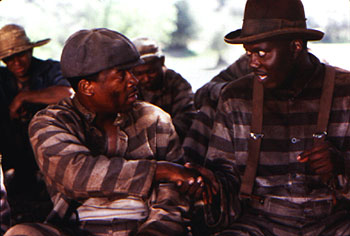 Life Martin Lawrence tries to befriend Bernie Mac in Universal's  - 1999