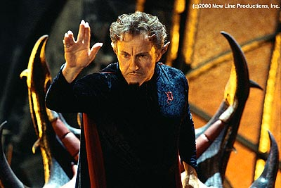 Harvey Keitel  as Nicky's dad in New Line's Little Nicky - 2000