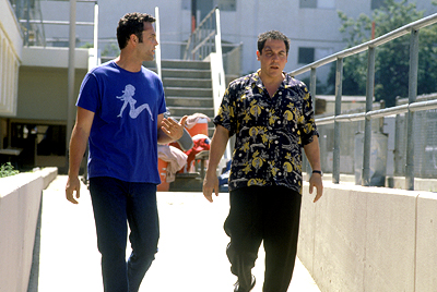 Made Vince Vaughn and Jon Favreau in Artisan's  - 2001