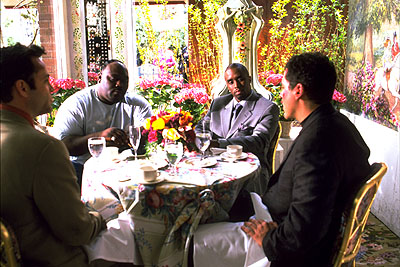 Jon Favreau Vince Vaughn, Faizon Love, Sean Combs and  in Artisan's Made - 2001