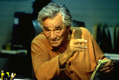 Made Peter Falk as Max in Artisan's  - 2001