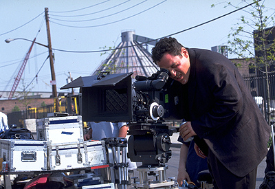 Made Director/Writer/Producer/Star Jon Favreau on the set of Artisan's  - 2001