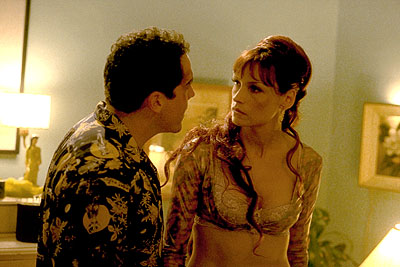 Made Jon Favreau and Famke Janssen in Artisan's  - 2001