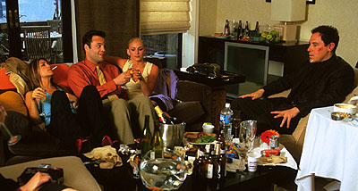 Jon Favreau Jennifer Esposito, Vince Vaughn, Drea de Matteo and  in Artisan's Made - 2001