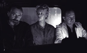 Rade Serbedzija , Charlize Theron and Peter Firth in Disney's Mighty Joe Young - 1998