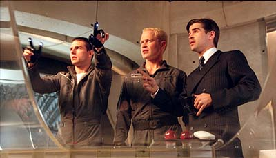 Neal McDonough Tom Cruise,  and Colin Farrell in 20th Century Fox's Minority Report - 2002