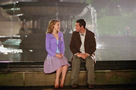 Mr. Deeds Winona Ryder and Adam Sandler in Columbia's  - 2002