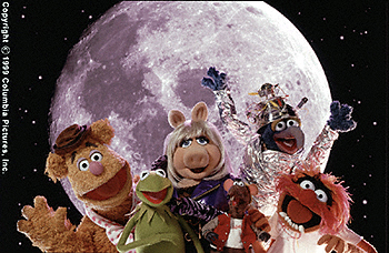 Muppets from Space - Fozzie Bear, Kermit The Frog, Miss Piggy, Rizzo, Gonzo and Animal in Muppets From Space