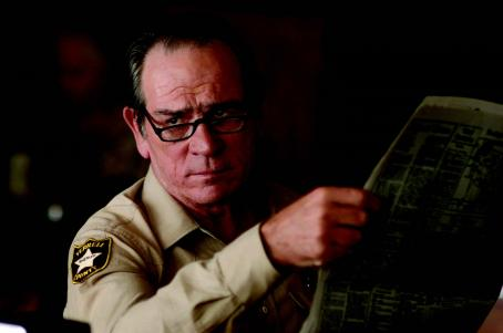 No Country for Old Men Tommy Lee Jones star as Bell in Joel and Ethan Coen thrillers ''