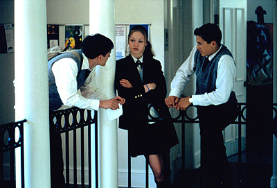 Josh Hartnett and Julia Stiles - Josh Hartnett, Julia Stiles and Andrew Keegan in Lions Gate's O - 2001