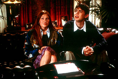 Schuyler Fisk and Colin Hanks in Paramount's Orange County - 2002